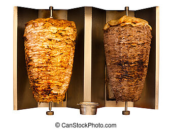 Grill Chicken Lamb Mutton Shawerma Meat Machine - Delicious...