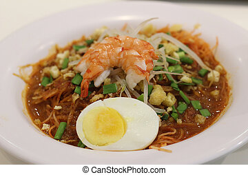 Asam laksa, traditional Malaysian dishes - Asam laksa, a...