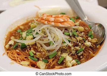 Asam laksa, traditional Malaysian dishes - Asam laksa, a...