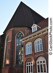 St. James Church in Hamburg, Germany