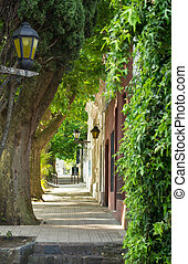 Calle colonial - Uruguay, Colonia de sacramento....