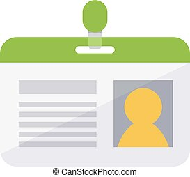 Personal identification badge. - Access and identification...