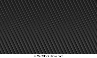 Black abstract tech striped video animation - Black abstract...