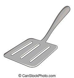 Skimmer icon, cartoon style - Skimmer icon. Cartoon...