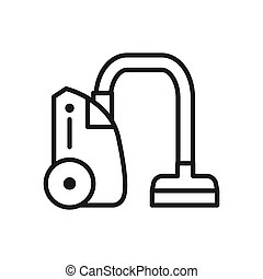 vacuum cleaner vector illustration design