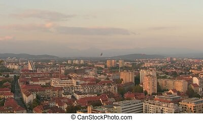 Time lapse Ljubljana - Time lapse sunset over Ljubljana...