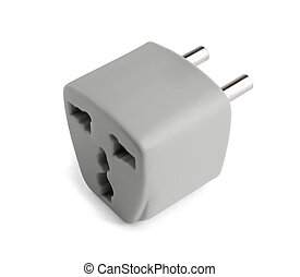 Universal power adapter - Universal AU US UK to EU power...