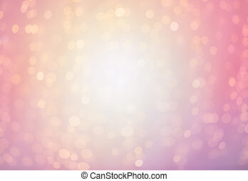 blurred pink background with lights - bokeh, holidays and...