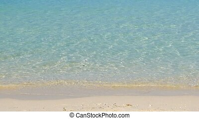Crystal clear waters of the tropical sea - Peaceful tropical...