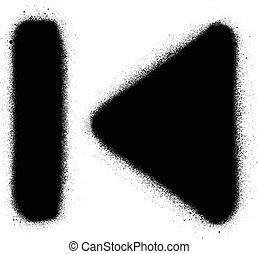 airbrush, polígono, clip-art, salpicadura, Clipart, gráfico,...