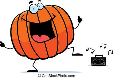 Pumpkin Dancing