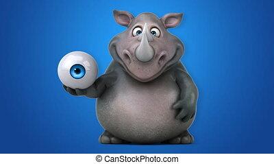 Fun rhino - 3D Animation
