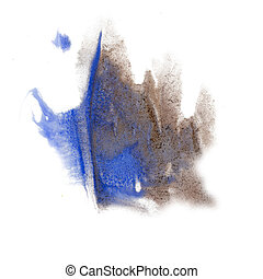 paint splash color blue gray ink blue red watercolor...