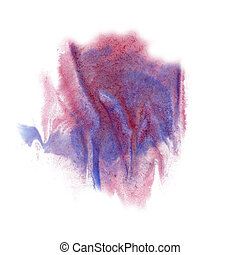paint splash color blue pink ink blue red watercolor...