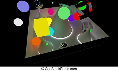 Boxes and spheres fall in the scope of capacity. 3D...