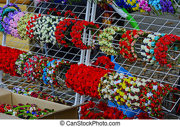 Holiday handicrafts at the feast in the village of western Ukraine