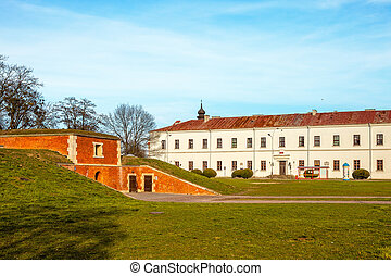 The Zamojski Academy in Zamosc, Poland. - The Zamojski...