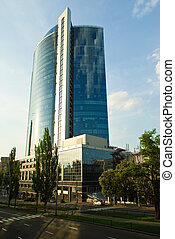 Business center in Kiev, Ukraine
