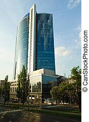 Business center in Kiev, Ukraine