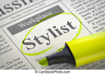 Stylist Join Our Team. 3D. - Stylist - Jobs Section Vacancy...