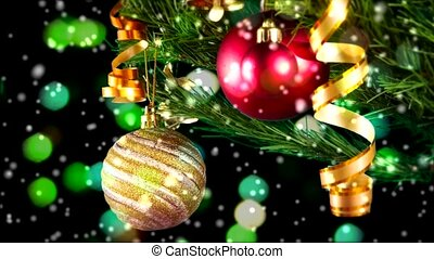 Christmas balls - Balls and other christmas attributes