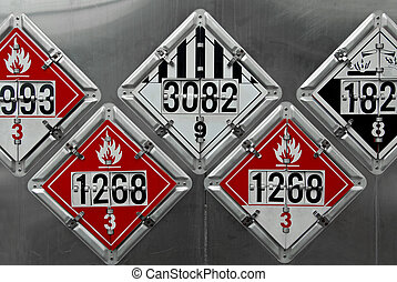 Transportation Placards - USDOT Hazardous Materials...
