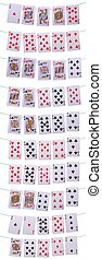 Poker hands rankings - set of all possible poker hands on...
