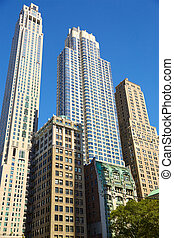 Skyscrapers in Lower Manhattan - Lower Manhattan skyscrapers...