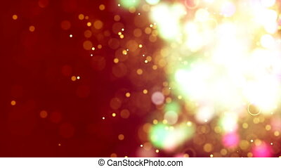 HD Loopable Background with nice golden bokeh - HD Loopable...