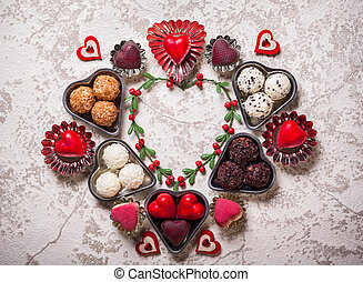 chocolates for Valentine's Day - Gourmet chocolates for...