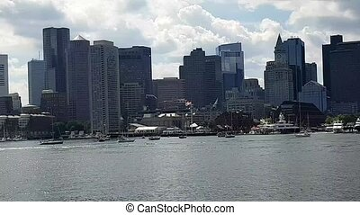 Boston Skyline and Financial District