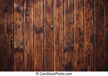 Wooden texture background, table or boards top view