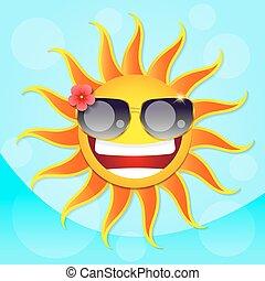 Fun sun summer