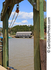 St. Martins New Brunswick in Canada - covered Bridge in St....