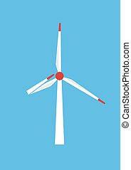 Wind power serves to the people - Wind power honestly serves...