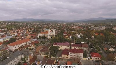 Uzhgorod city Ukraine - View on Uzhgorod city Ukraine