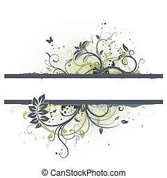 Floral Decorative frame