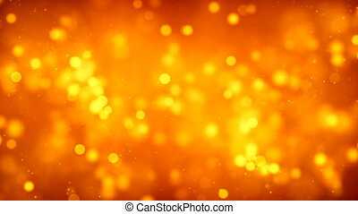 HD Loopable Background with nice orange particles