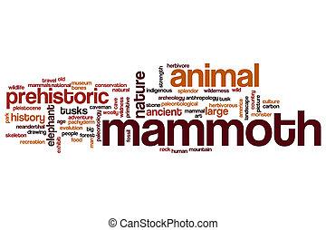 Mamut, palabra, nube