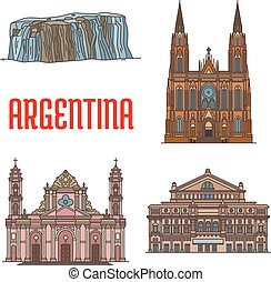 Tourist attractions of Argentina - Tourist attraction...