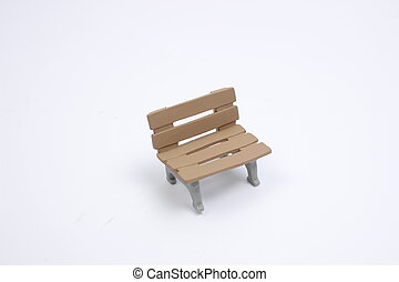 seat toy on a white back ground