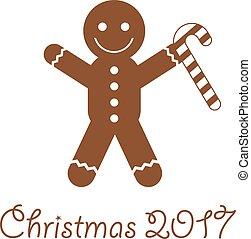 christmas cookies cute cartoon - vector christmas cookies...