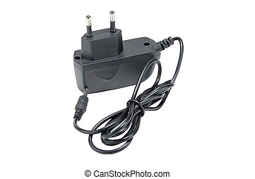 the AC/DC adapter