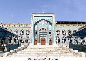 Mosque Haji Yaqub. Tajikistan. Dushanbe - Tajikistan....