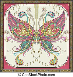 Insect adult coloring page