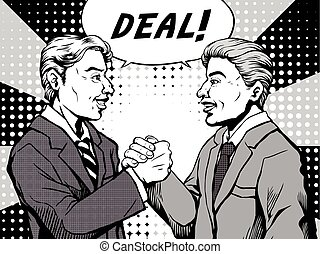 comic deal done