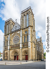 Church of Saint Andre in Bayonne - France - Bayonne - Church...