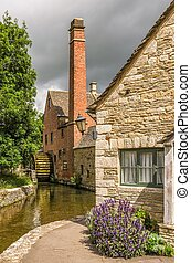 Old watermill in Lower Slaughter. - An old watermill in the...