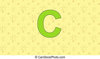 Cheetah. English ZOO Alphabet - letter C - Animated English...