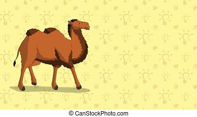 Camel. English ZOO Alphabet - letter C - Animated English...